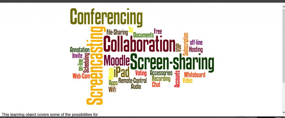 Conferencing and collaboration via iPads